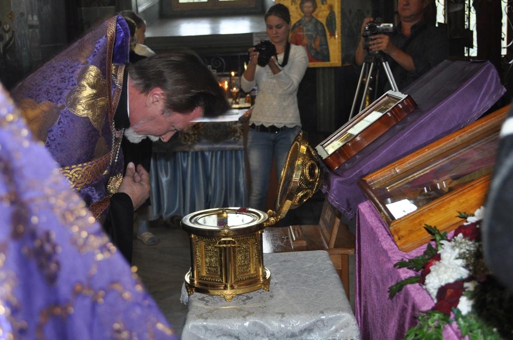 DSC_0766 В Измаил привезли святые мощи (фото)