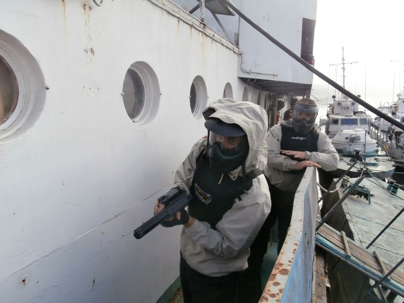 Foto-267 Измаильские моряки-пограничники получили сертификаты международного класса (фото)