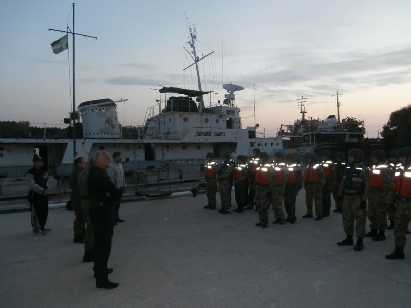 Измаильские моряки-пограничники получили сертификаты международного класса (фото)