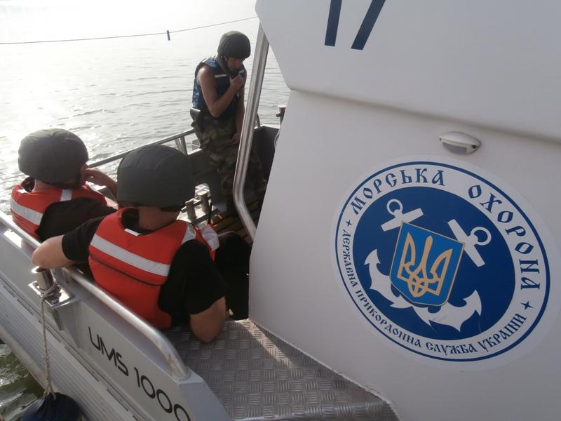Foto-644 Измаильские моряки-пограничники получили сертификаты международного класса (фото)