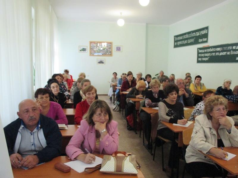 IMG_0430 Измаил: студенты мудрого возраста готовы к новым знаниям