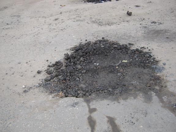 IMG_4482 Особенности ремонта дорог в Арцизе (фото)