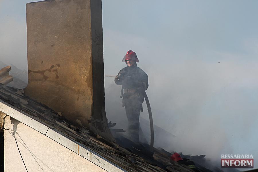 IMG_7414 В Измаиле горел частный дом (фото)