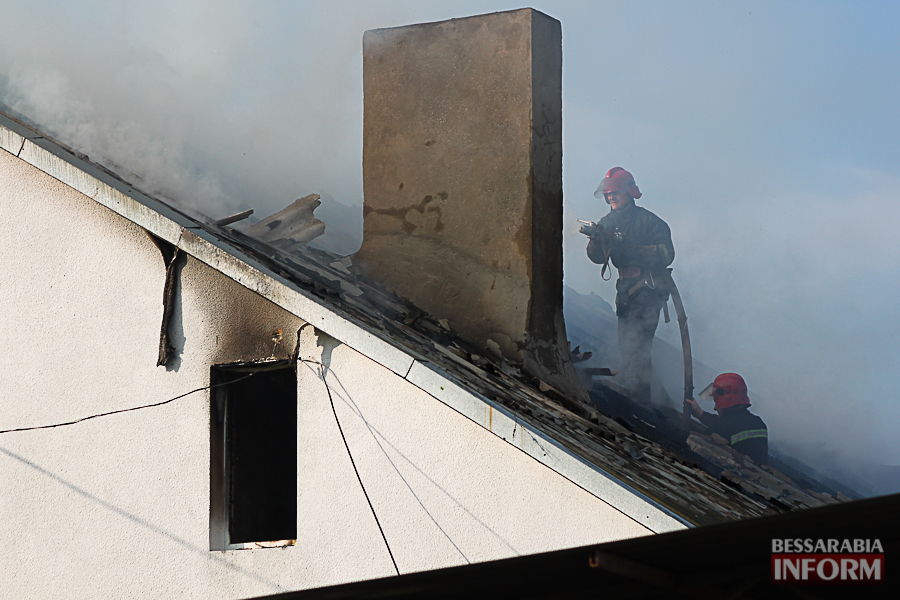 IMG_7419 В Измаиле горел частный дом (фото)