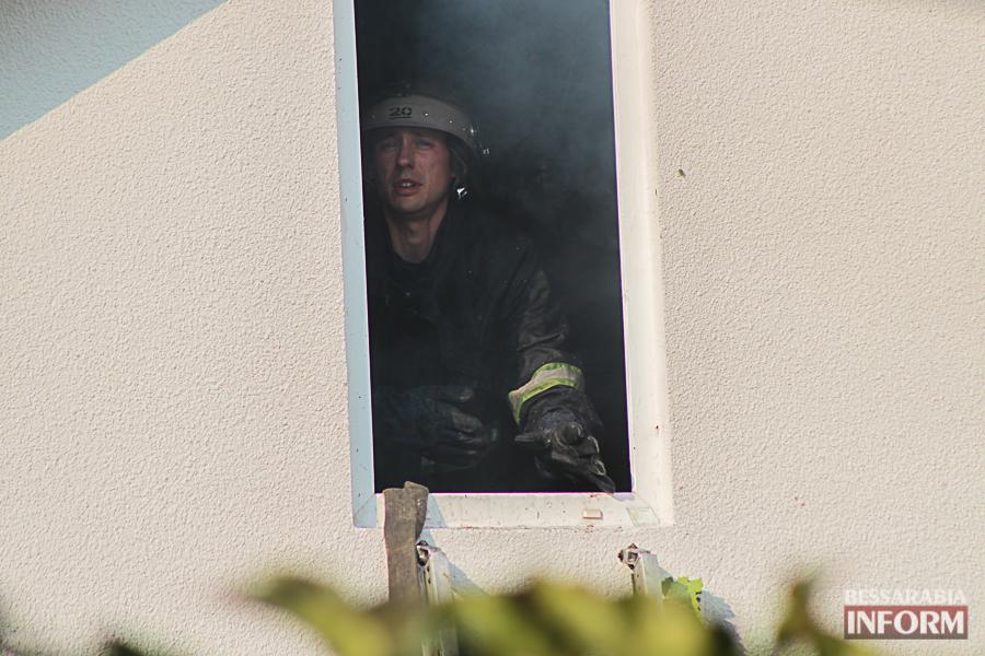 IMG_7428 В Измаиле горел частный дом (фото)