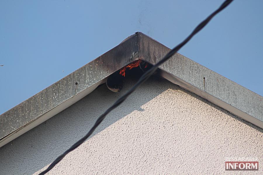 IMG_7439 В Измаиле горел частный дом (фото)