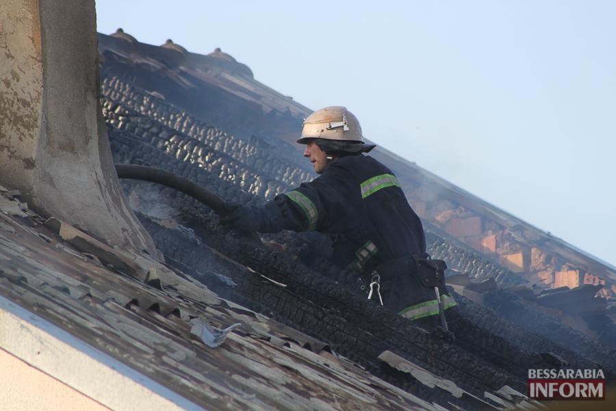 IMG_7452 В Измаиле горел частный дом (фото)