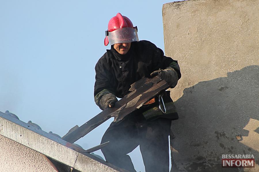 IMG_7458 В Измаиле горел частный дом (фото)