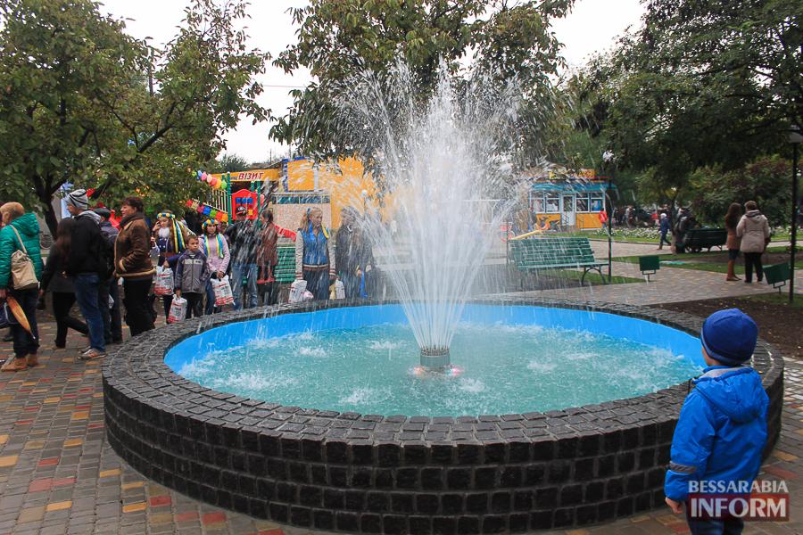 В Килии запустили новый цветной фонтан (фото)