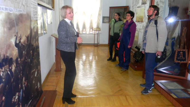 Izobrazhenie-038 Измаильский пограничный отряд посетили известные художники (фото)