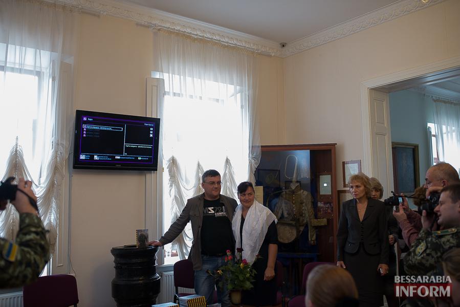 SME_1830 В Измаиле прошла презентация книги о легендарном пограничнике Игоре Момоте, который погиб в АТО