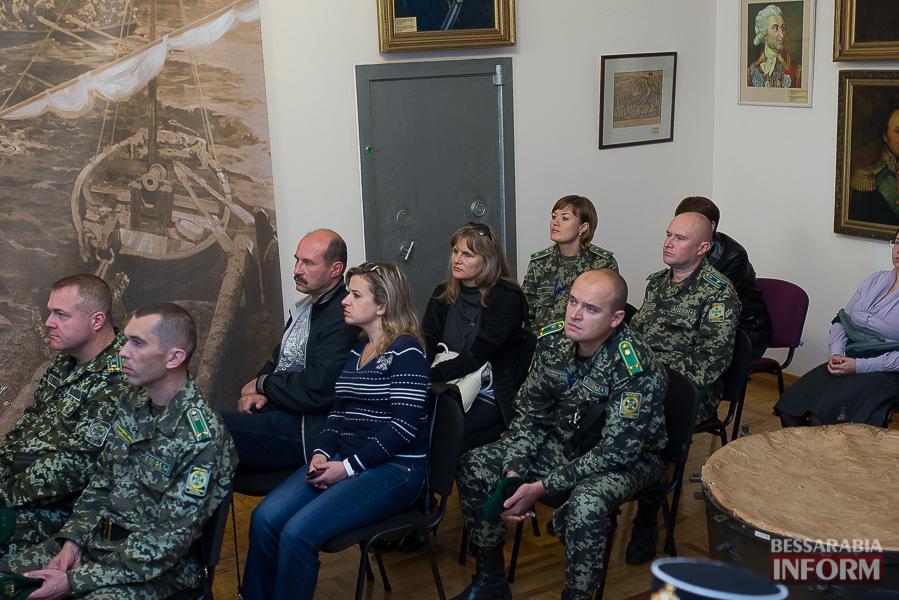 В Измаиле прошла презентация книги о легендарном пограничнике Игоре Момоте, который погиб в АТО