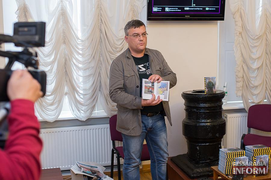 SME_1860 В Измаиле прошла презентация книги о легендарном пограничнике Игоре Момоте, который погиб в АТО