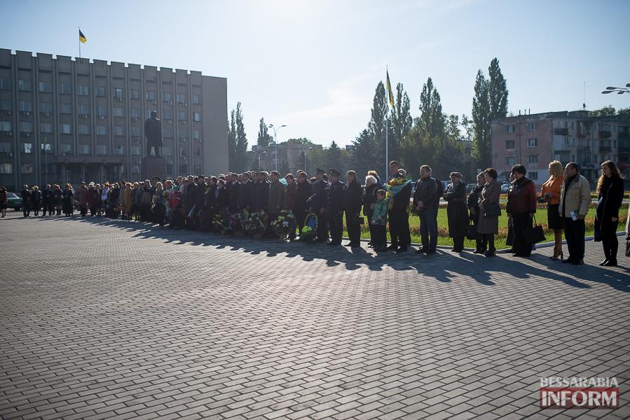 SME_4962 В Измаиле состоялось торжественное возложение цветов по случаю Дня защитника Украины