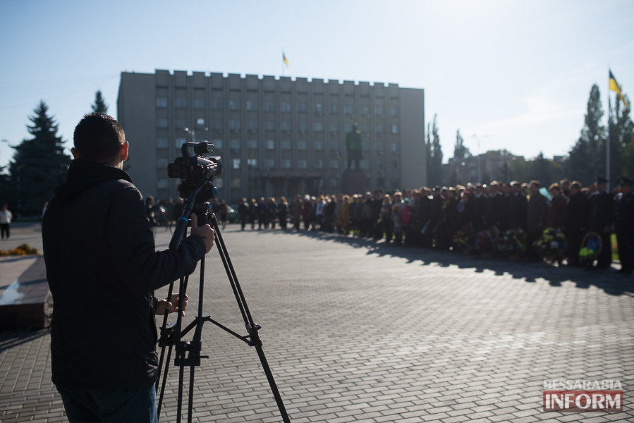 SME_4964 В Измаиле состоялось торжественное возложение цветов по случаю Дня защитника Украины