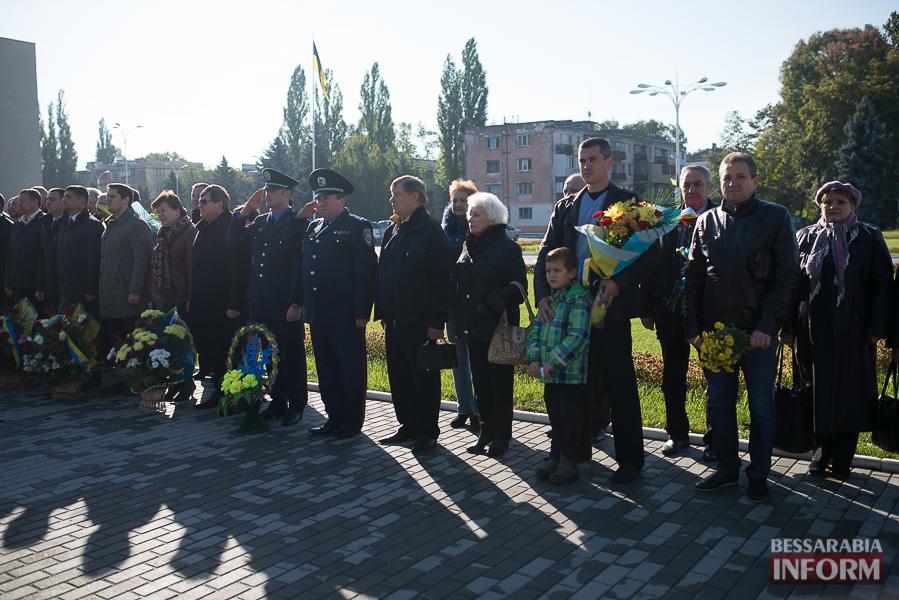 SME_4966 В Измаиле состоялось торжественное возложение цветов по случаю Дня защитника Украины