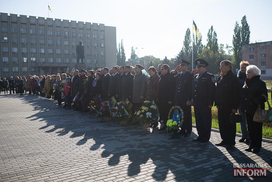 SME_4967 В Измаиле состоялось торжественное возложение цветов по случаю Дня защитника Украины