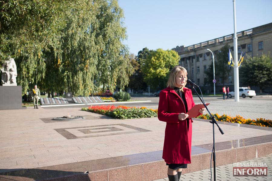 SME_4969 В Измаиле состоялось торжественное возложение цветов по случаю Дня защитника Украины