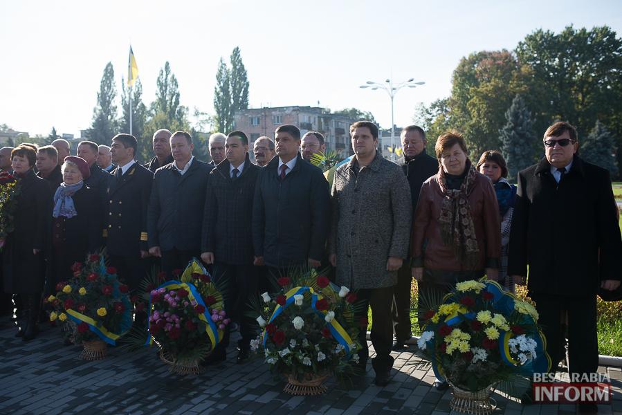 SME_4971 В Измаиле состоялось торжественное возложение цветов по случаю Дня защитника Украины
