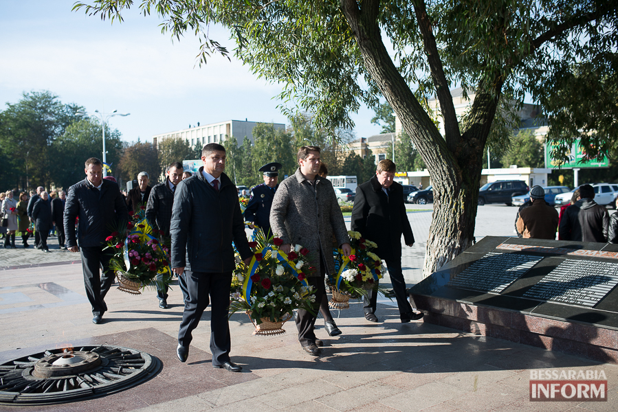 SME_4980 В Измаиле состоялось торжественное возложение цветов по случаю Дня защитника Украины