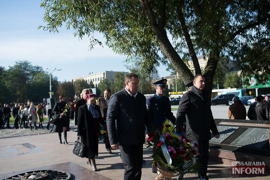 SME_4985 В Измаиле состоялось торжественное возложение цветов по случаю Дня защитника Украины