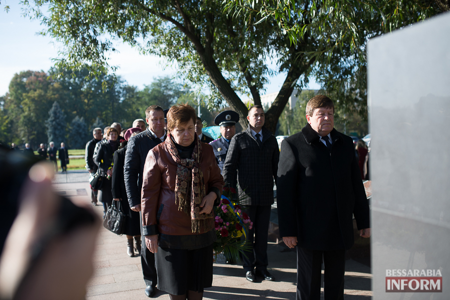 SME_4996 В Измаиле состоялось торжественное возложение цветов по случаю Дня защитника Украины