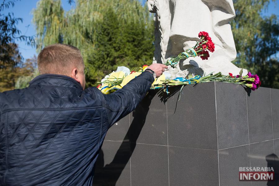 SME_5007 В Измаиле состоялось торжественное возложение цветов по случаю Дня защитника Украины