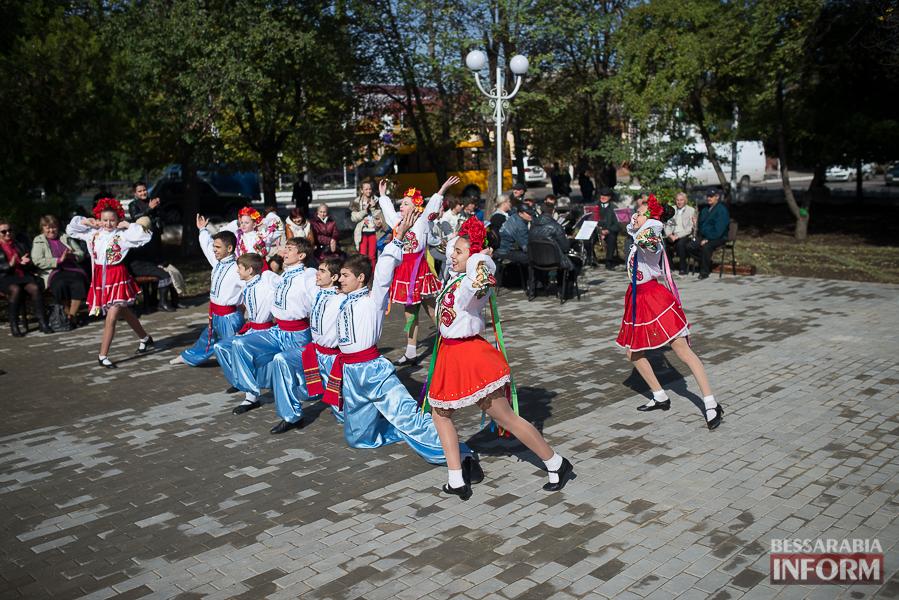 В Измаиле прошло открытие центрального фонтана (фото)