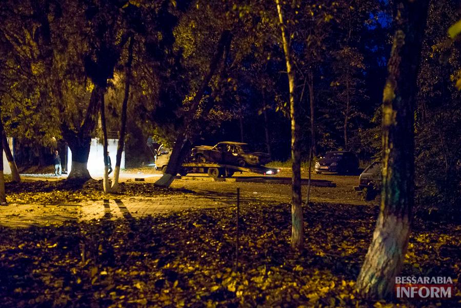 SME_8723 Автомобиль преступников, совершивших вооруженное нападение в Измаиле, нашли сгоревшим (ФОТО)