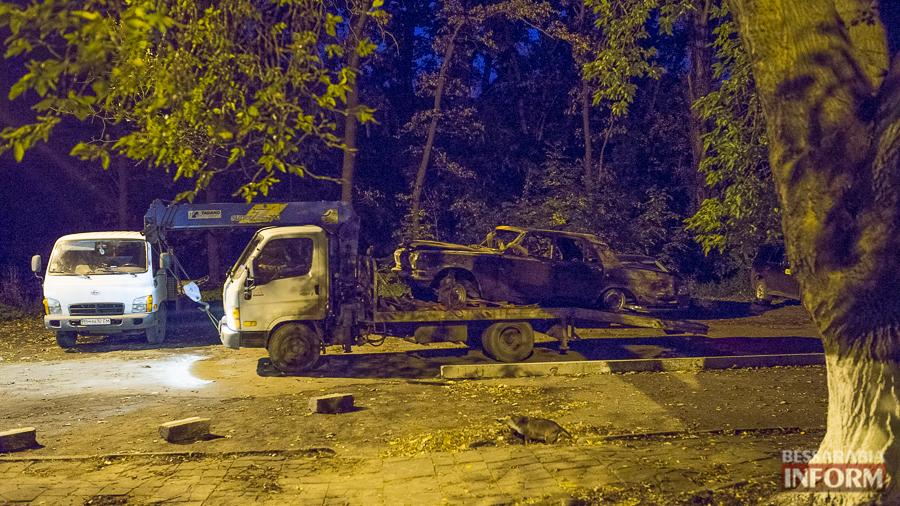 SME_8727 Автомобиль преступников, совершивших вооруженное нападение в Измаиле, нашли сгоревшим (ФОТО)