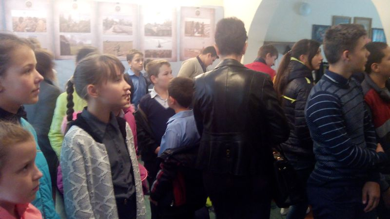 В Рени открылась выставка, посвященная событиям АТО