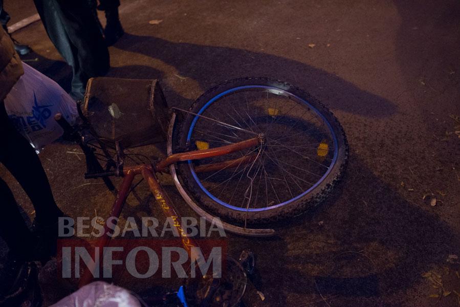 113 Измаил: на проспекте Суворова сбили велосипедиста (ФОТО)