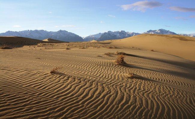 210 Пустыня среди ледников в Забайкалье: Чарские пески
