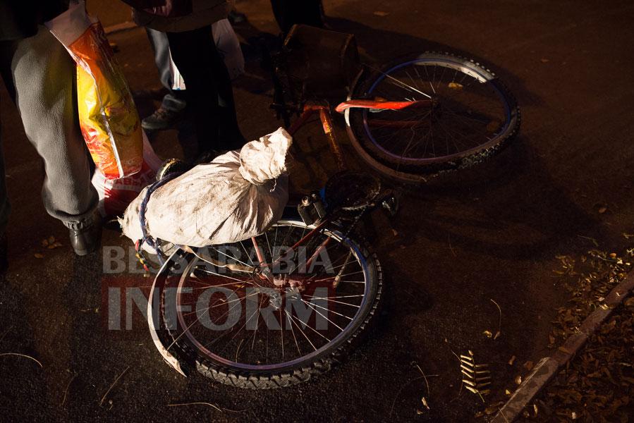 22 Измаил: на проспекте Суворова сбили велосипедиста (ФОТО)