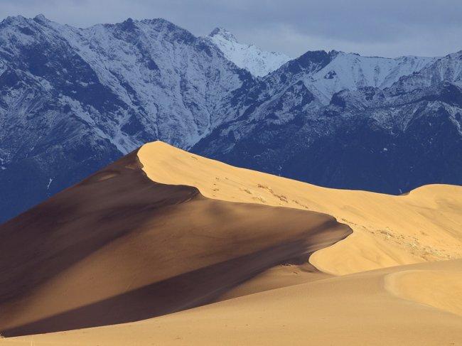 310 Пустыня среди ледников в Забайкалье: Чарские пески