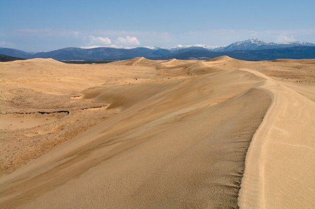 411 Пустыня среди ледников в Забайкалье: Чарские пески
