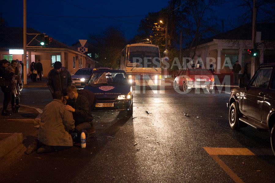 44 Измаил: на проспекте Суворова сбили велосипедиста (ФОТО)
