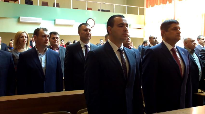 4565 В Измаиле прошла инаугурация мэра