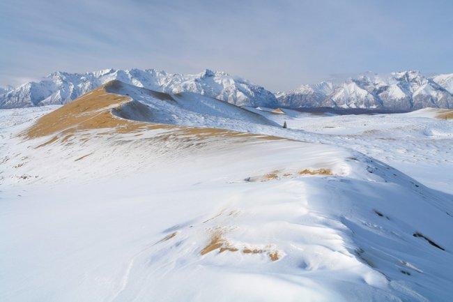 510 Пустыня среди ледников в Забайкалье: Чарские пески