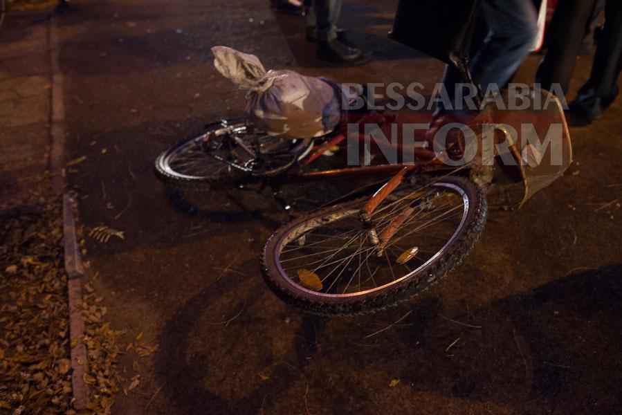 53 Измаил: на проспекте Суворова сбили велосипедиста (ФОТО)