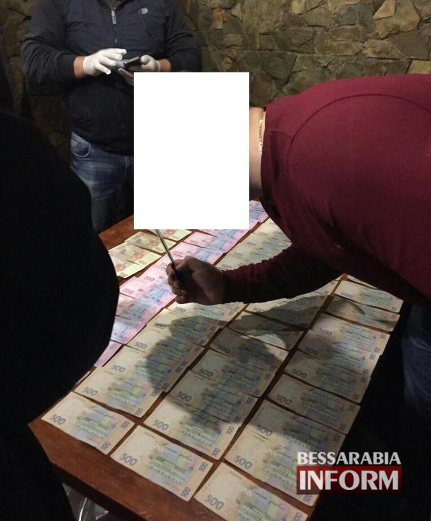 В Измаиле задержали старшего следователя полиции на взятке в 25 тыс. гривен (ФОТО)