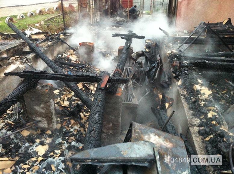 5657fd7c5862d В Затоке пожар полностью уничтожил здание аптеки (фото)