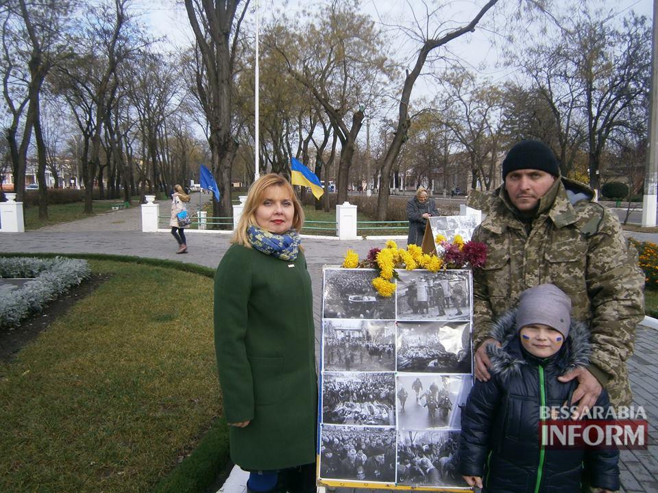 Измаил: рана Майдана еще болит...(фото)