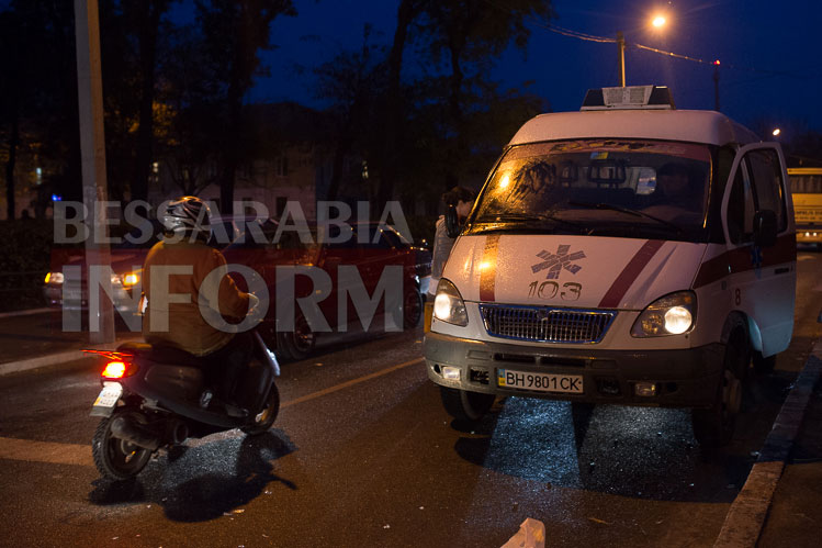 Измаил: на проспекте Суворова сбили велосипедиста (ФОТО)