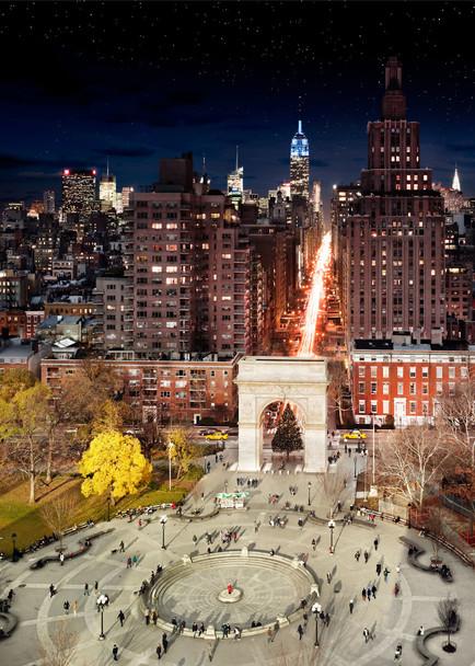 78034_main 24 часа в одном снимке. Американский фотограф совместил дневные и ночные пейзажи разных городов