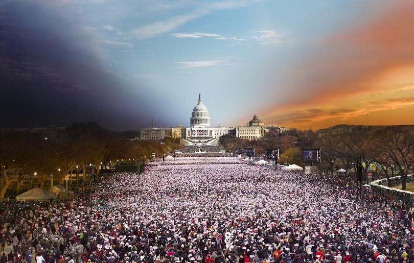 78036_main 24 часа в одном снимке. Американский фотограф совместил дневные и ночные пейзажи разных городов