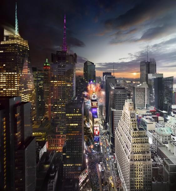 78042_main 24 часа в одном снимке. Американский фотограф совместил дневные и ночные пейзажи разных городов