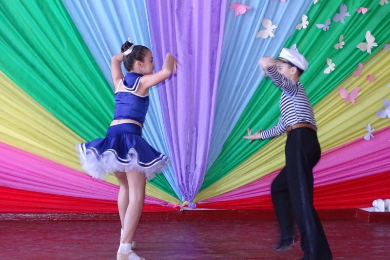 DSC08442 Первокурсники педфакультета ИГГУ представили свои таланты