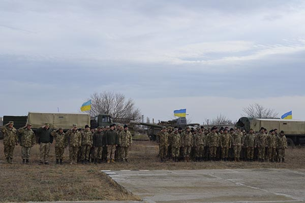DSC5986 В Аккерман на ротацию прибыли воины из зоны АТО