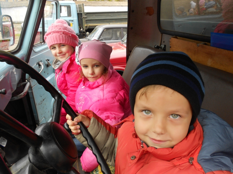Детский сад гостил в Измаильском техникуме механизации и электрификации с/х